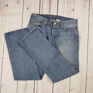 Women's Levis Vintage 501 Light Wash Jeans